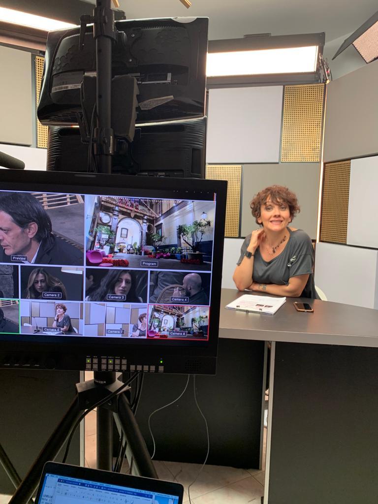 Trucco per la televisione truccatrice Napoli 11