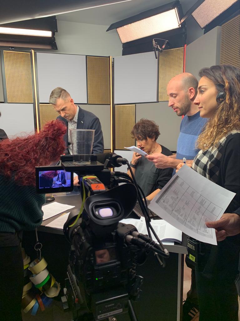 Trucco per la televisione truccatrice Napoli 12