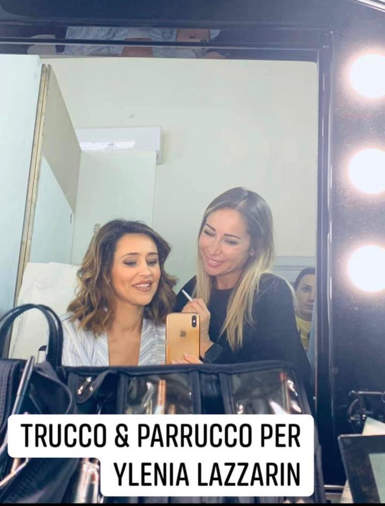 Trucco per la televisione truccatrice Napoli 9